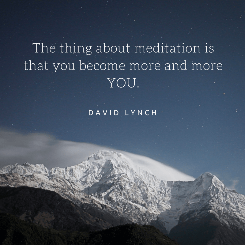 david lynch meditation