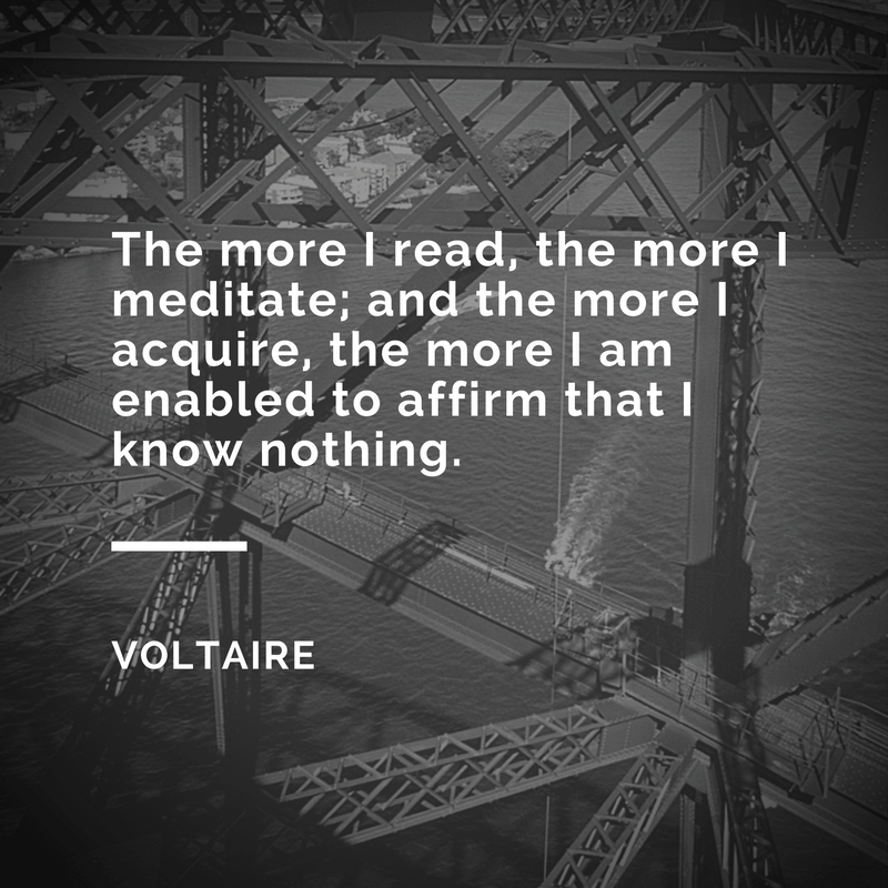 voltaire meditation quotes