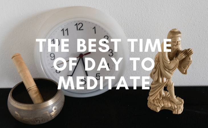 When is the best time of day to meditate? (Avoid this time)